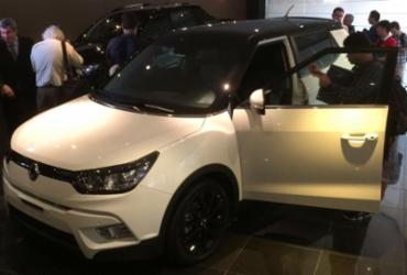 Coreana SsangYong volta ao Brasil, mas carros só chegam em 2018