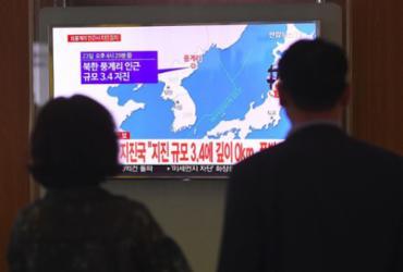 Terremoto atinge Coreia do Norte em região de teste nuclear