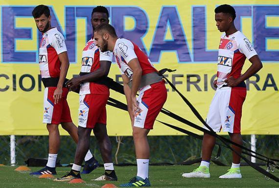 Titulares retornam e Bahia treina de olho no Grêmio no domingo