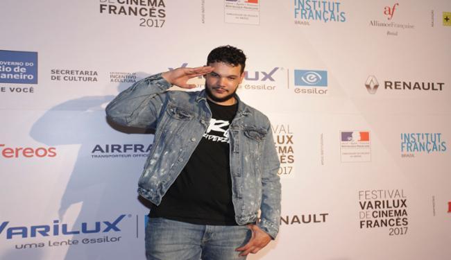 Sadek é um premiado rapper francês - Foto: Rodrigo Resende.| Divulgação