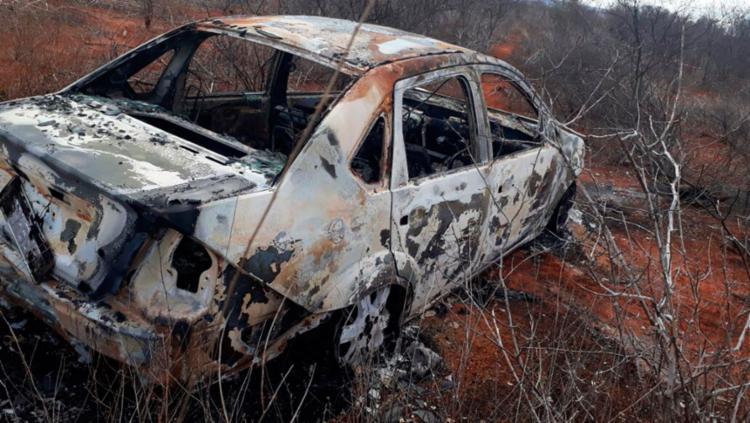 O corpo foi localizado em um matagal, no povoado de Bicas - Foto: Reprodução | Blog Walterley Kuhin