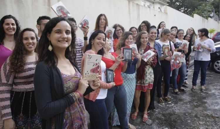 Reunião do clube Leia Mulheres, em Salvador, que está na 20ª edição - Foto: Margarida Neide   Ag. A TARDE