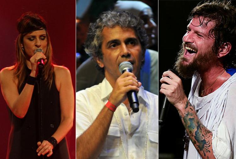 Fernanda Abreu, Jota Veloso e Saulo estão entre as atrações - Foto: Fotos: Divulgação