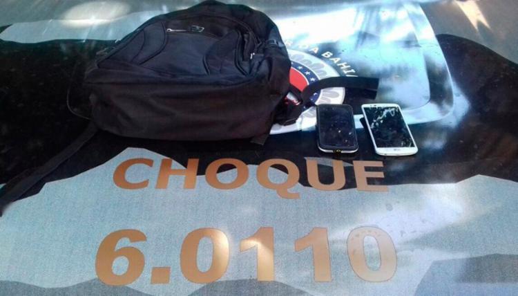 As vítimas conseguiram recuperar os objetos roubados - Foto: Divulgação | SSP-BA