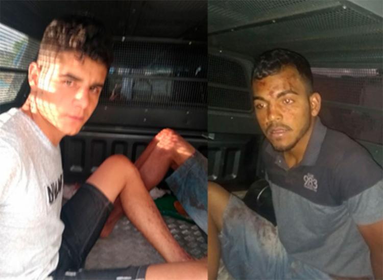 Os irmãos foram presos pela PM em Jussiape, município vizinho de Ibicoara - Foto: Reprodução | Informe Barra