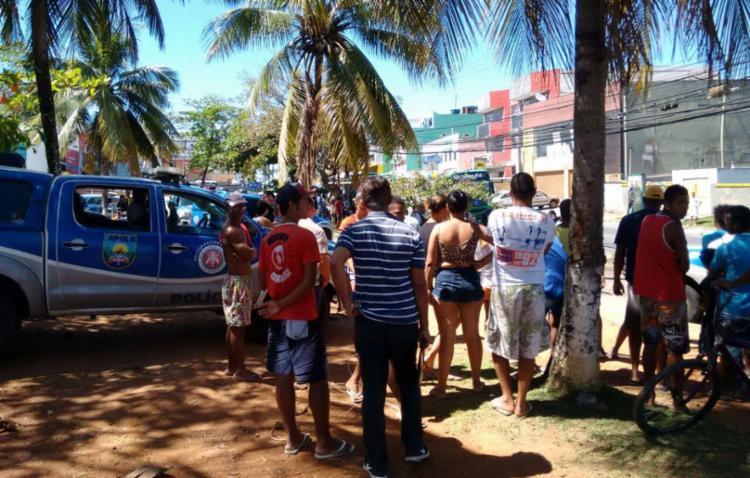 Crime aconteceu na avenida Jorge Amado - Foto: Euzeni Daltro | Ag. A TARDE