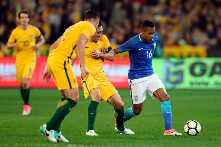 Lateral ganhou oportunidade após suspensão de Marcelo - Foto: Lucas Figueiredo | CBF