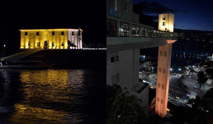 Forte de Santa Maria e Elevador Lacerda estão entre os pontos turísticos monitorados - Foto: Divulgação | Prefeitura de Salvador