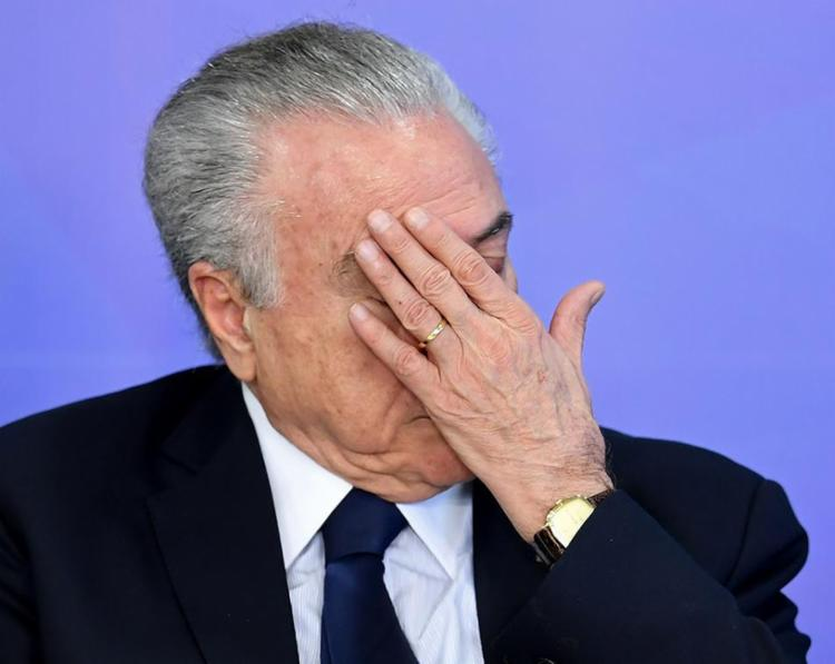 O ex-presidente é suspeito de receber vantagens indevidas dos envolvidos pelo suposto favorecimento da empresa Rodrimar S/A - Foto: Evaristo Sa | AFP
