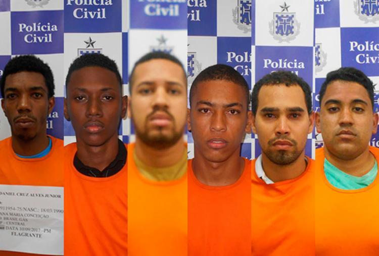 Grupo é acusado de tentar matar torcedor do Vitória no último domingo, 10 - Foto: Divulgação | SSP