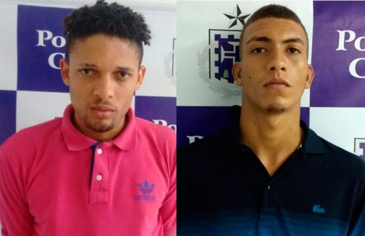 Os dois foram reencaminhados para as unidades de onde fugiram - Foto: Divulgação | Polícia Civil