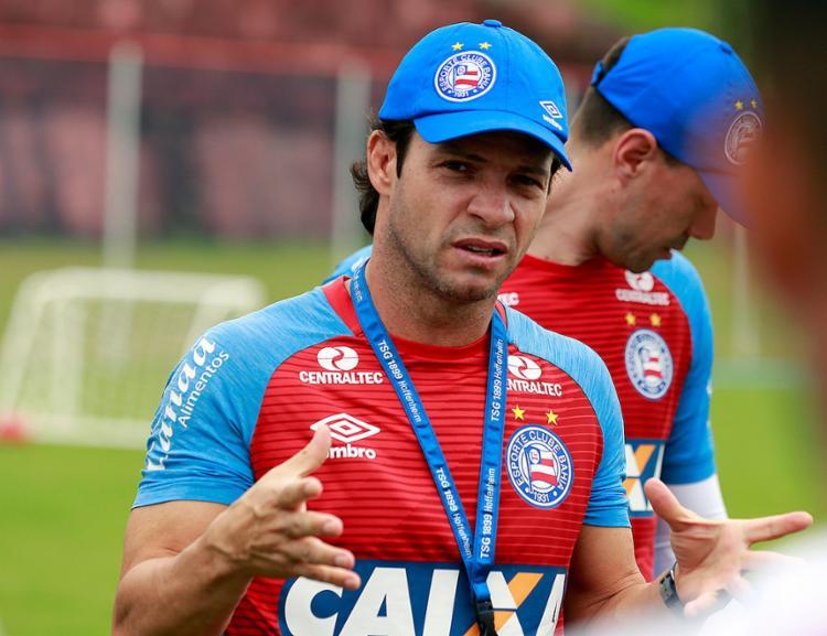 Treinador deve fazer mudanças no Bahia para a partida contra o Cruzeiro - Foto: Felipe Oliveira l EC Bahia