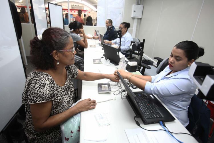 O posto do TRE em Pirajá terá funcionamento normal no sábado - Foto: Joá Souza | Ag. A TARDE