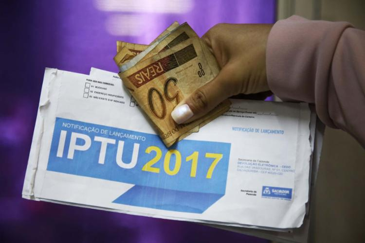 Julgamento avalia aumento do IPTU de 2014 e que está em vigor até hoje - Foto: Joá Souza | Ag. A TARDE | 06.09.2017