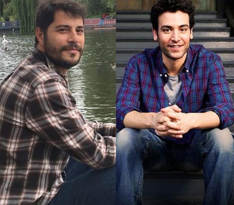 Após as comparações, o jornalista postou uma montagem dele ao lado do ator norte-americano - Foto: Reprodução | Instagram | Pinterest