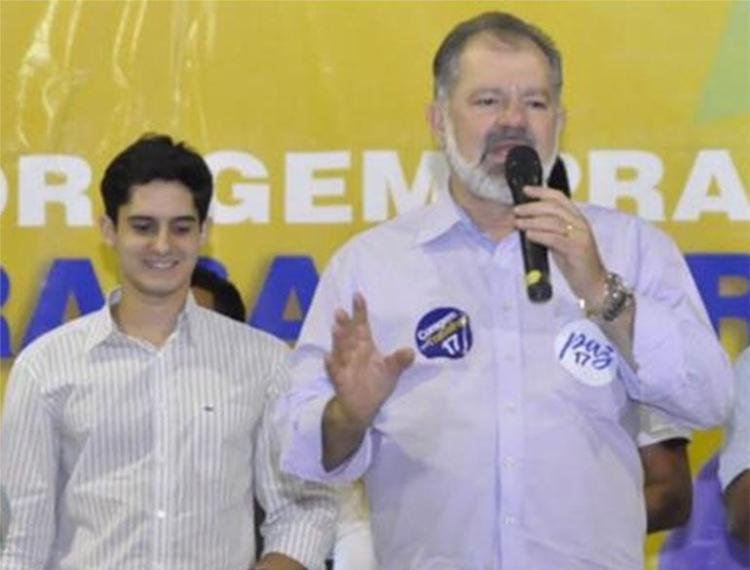 Marcelo Dantas, ao lado do sogro Nilo, também foi alvo de ação da PF - Foto: Reprodução   Facebook
