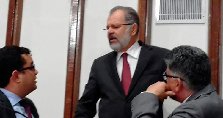 O parlamentar disse não haver sentido nas suspeitas levantadas pela PF e MPE - Foto: Joá Souza | Ag. A TARDE