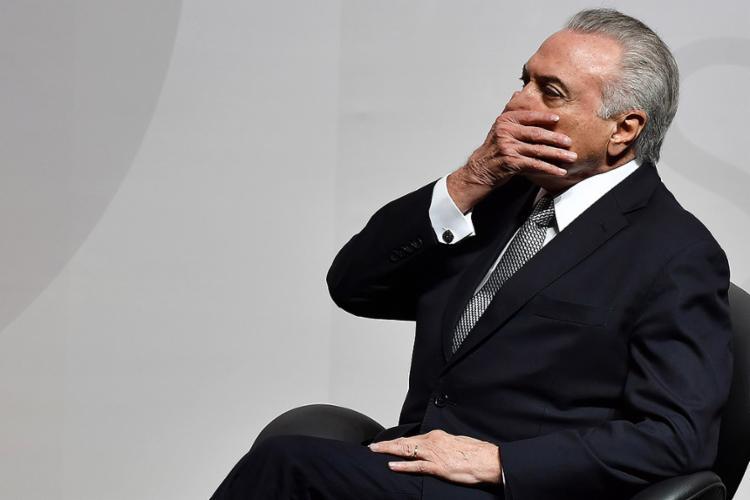 Esta é a segunda denúncia criminal do procurador-geral contra o presidente - Foto: Nelson Almeida l AFP