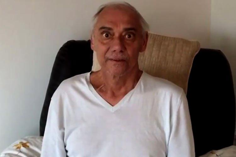 Marcelo Rezende, com câncer, é internado com pneumonia grave