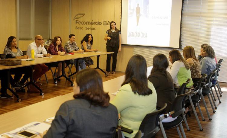 Encontro reuniu educadores de oito municípios parceiros do A TARDE Educação - Foto: Luciano da Matta l Ag. A TARDE
