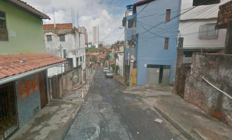 Os corpos foram encontrados na avenida São Marcos - Foto: Reprodução   Google Maps