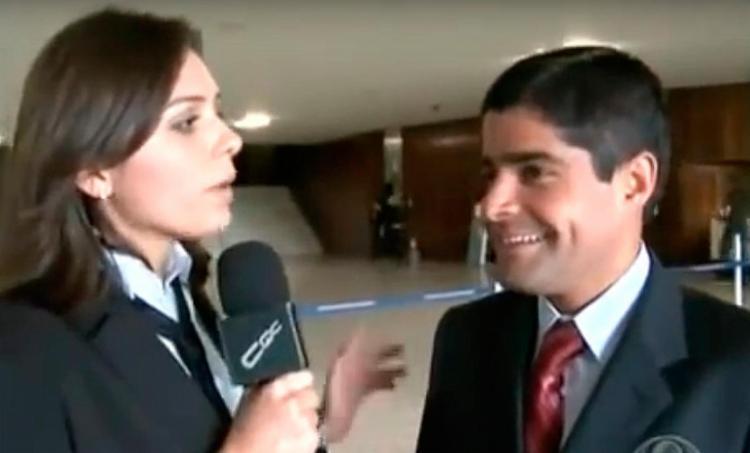 O caso teria acontecido durante uma entrevista no Congresso Nacional - Foto: Reprodução | Youtube