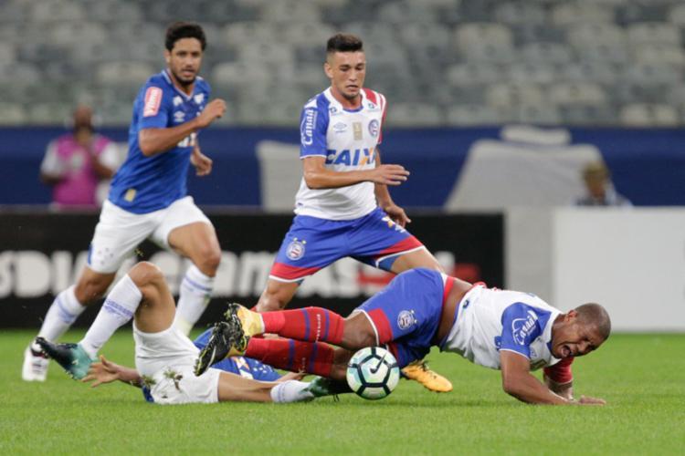 Bahia perde para o Cruzeiro e se complica no Brasileirão - Foto: Cristiane Mattos   Estadão Conteúdo