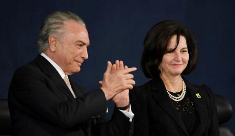 Presidente Temer participou de cerimônia - Foto: Evaristo Sa | AFP