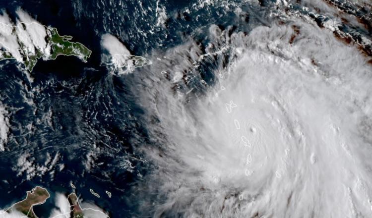 Maria deve atingir Porto Rico e as Ilhas Virgens esta noite ou amanhã pela manhã - Foto: Nasa | Divulgação