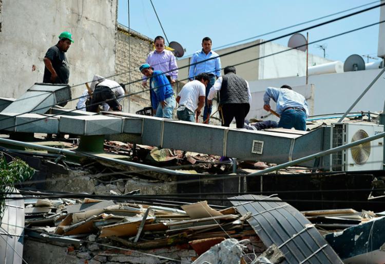 México é afetado por forte terremoto