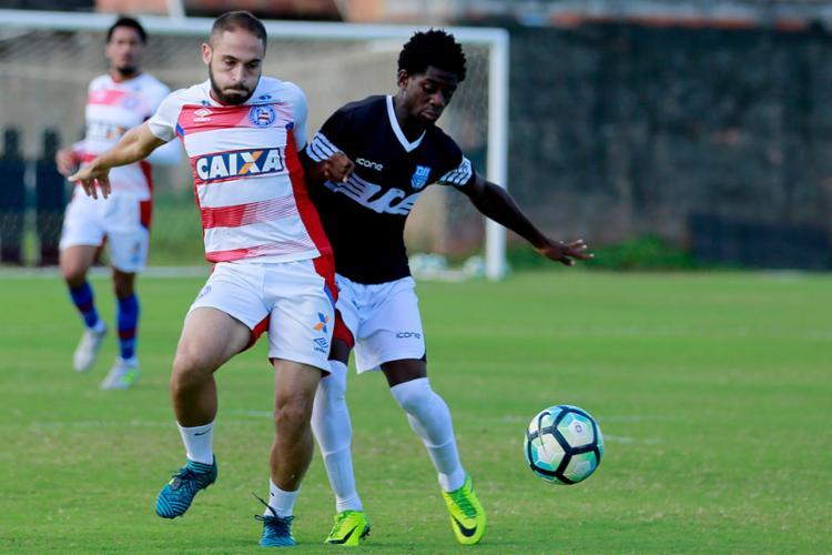 Bahia jogou contra o EC Olímpia no Fazendão - Foto: Felipe Oliveira l EC Bahia