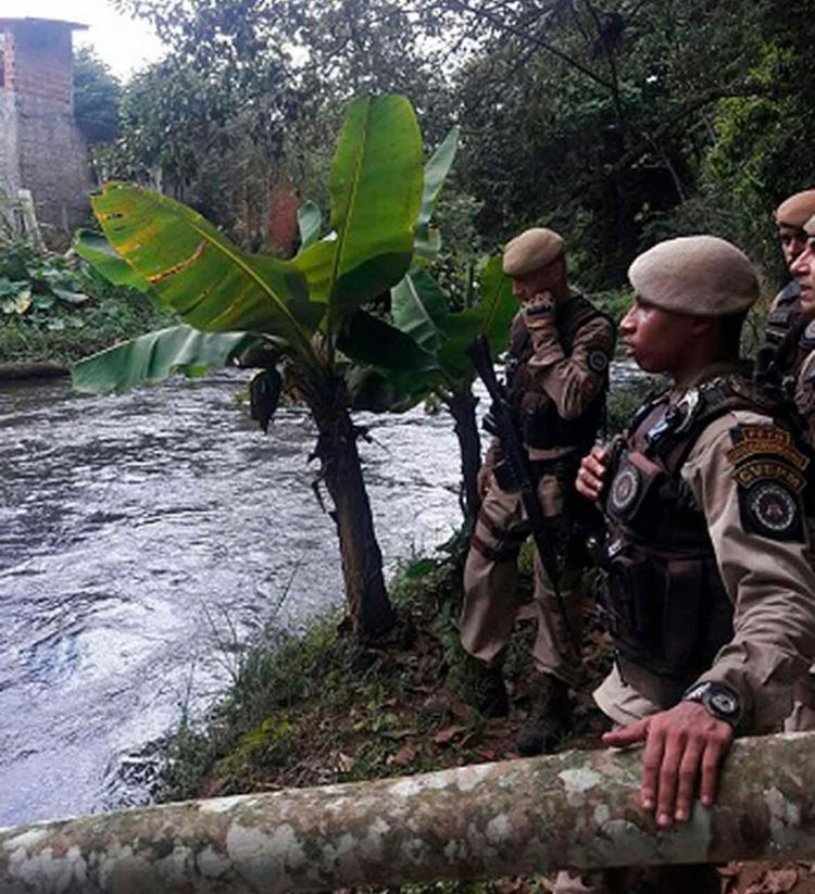 Policiais militares foram acionados para realizar o resgate - Foto: Divulgação   SSP-BA