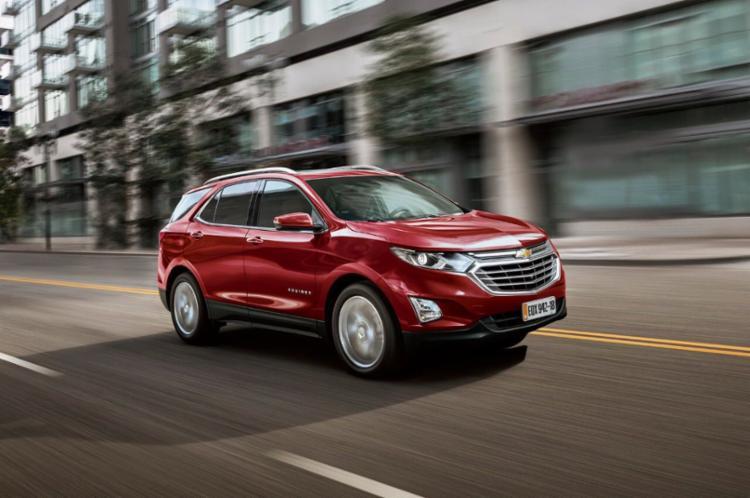Importado do México, Equinox será vendido somente na versão topo de linha Premier - Foto: Chevrolet | Divulgação
