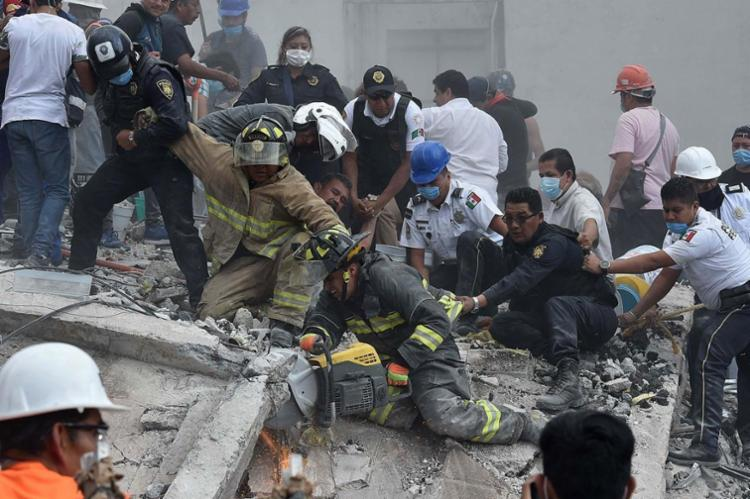 Número de vítimas ainda é incerto - Foto: Yuri Cortez | AFP
