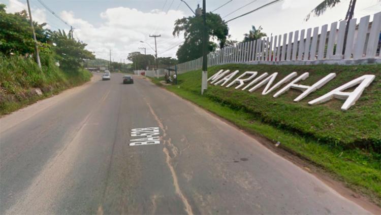 Os coletivos estão parando na região da Marinha do Brasil, conhecida como