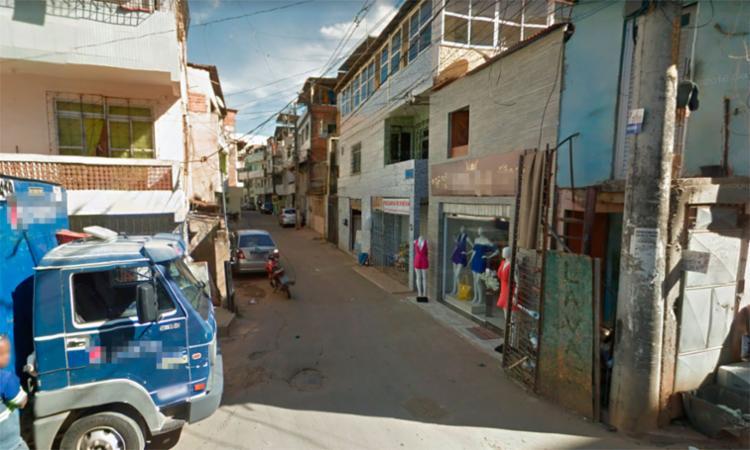 O crime aconteceu na rua Minas Gerais, em Permanbués - Foto: Reprodução | Google Maps