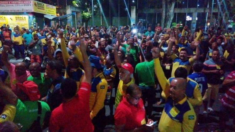 A categoria entrou em greve na Bahia nesta terça - Foto: Divulgação | Sincotelba