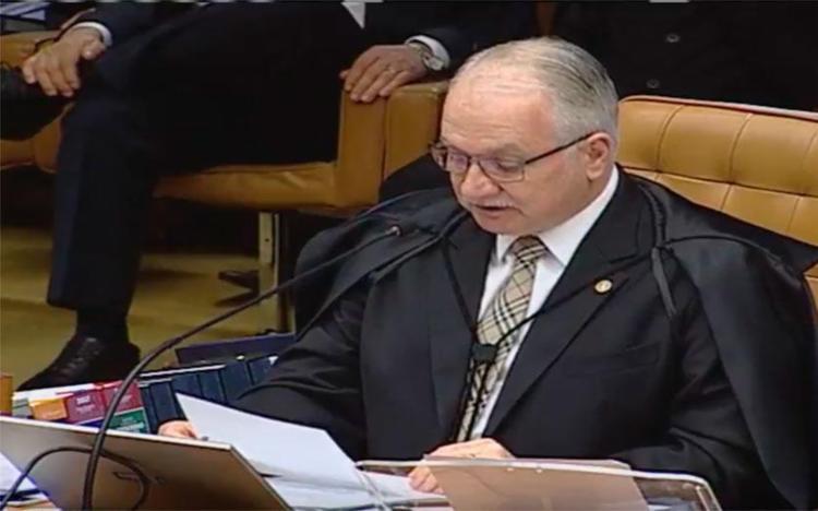Fachin foi relator do inquérito criminal contra Temer - Foto: Reprodução | TV Justiça
