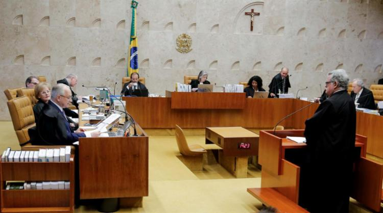 Sessão foi suspensa e será retomado nesta quinta-feira, 21 - Foto: Sergio Lima | AFP
