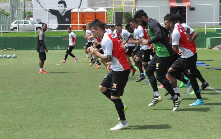 Grupo treinou na manhã desta quarta-feira, 20 - Foto: Maurícia da Matta | EC Vitória