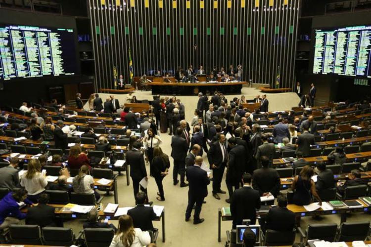 Foram 348 deputados a favor, 87 contra e 4 abstenções - Foto: Agência Brasil