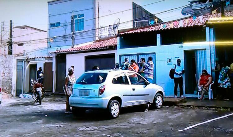 O crime aconteceu na Alameda 69, no Jardim Santo Inácio - Foto: Reprodução | T V Record
