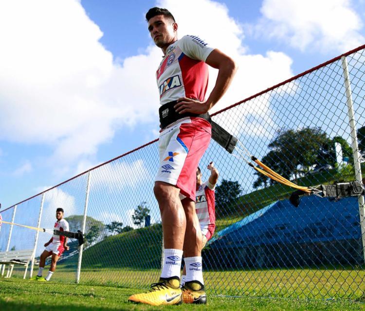 Ele soma até aqui 97, sendo 55 disputados em 2016 e o restante nesta temporada - Foto: Felipe Oliveira | EC Bahia | Divulgação