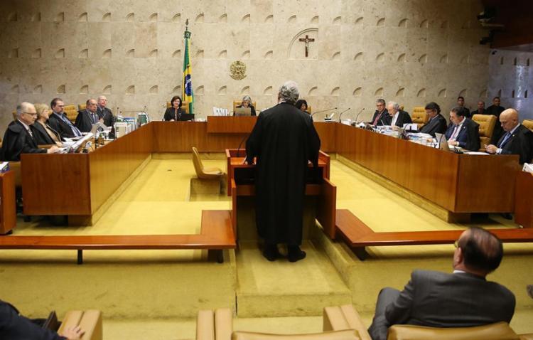 Os ministros seguiram entendimento do relator do caso, ministro Edson Fachin - Foto: José Cruz | Agência Brasil