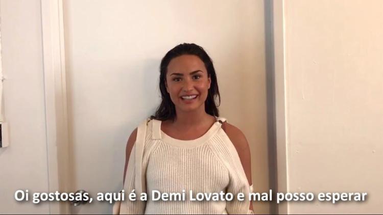 Demi Lovato manda recado para fãs da Boca Rosa - Foto: Reprodução/ Instagram