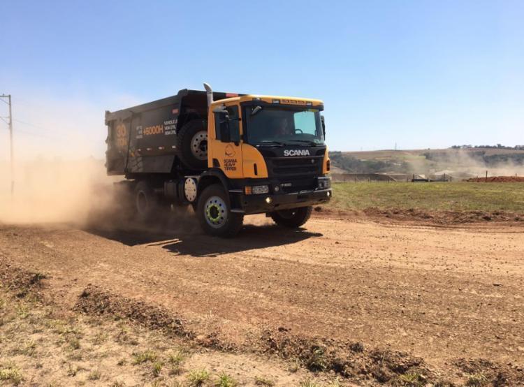 Heavy Tipper: 25% a mais de carga em relação à versão anterior - Foto: Scania | Divulgação