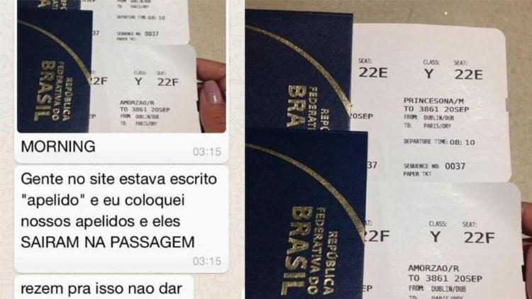 Brasileira erra tradução e compra passagem em nome de