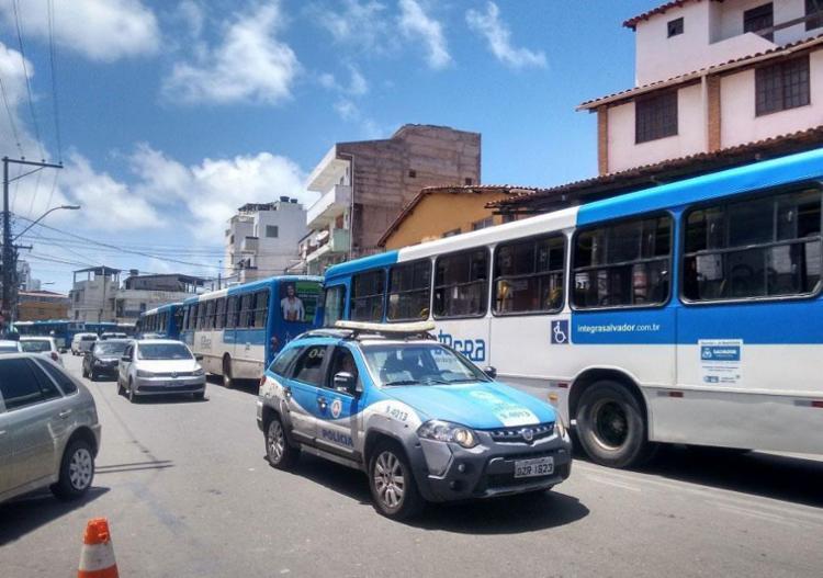 Rodoviários desistiram de regularizar serviço nos bairros - Foto: Euzeni Daltro | Ag. A TARDE