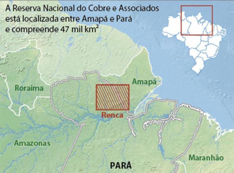 Decreto presidencial autoriza a exploração mineral da Reserva Nacional - Foto: Divulgação | Câmara