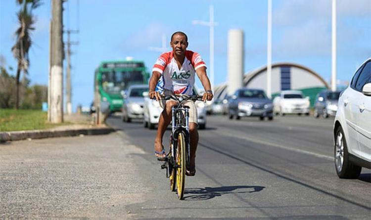 Média de utilização das 510 vagas nas estações é de 30 pessoas/dia - Foto: Raul Spinassé | Ag. A TARDE | 21.09.2017